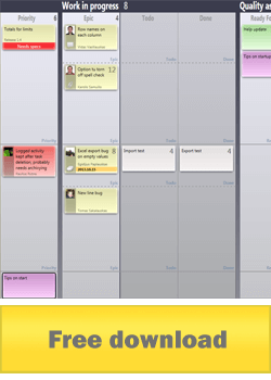 agile task board